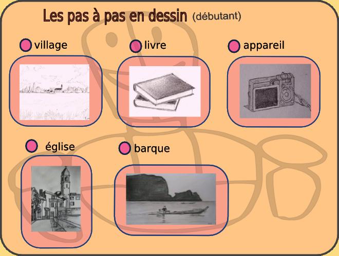 http://atelierdepeinture.l.free.fr/dessin/sommairepasapasdessin.htm