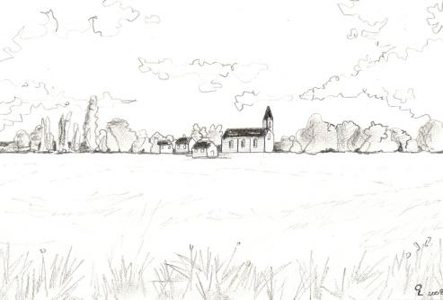 dessiner un paysage en dessin et au crayon suite 2. Black Bedroom Furniture Sets. Home Design Ideas