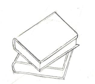 Dessin D Un Livre reussir une perspective en dessin : exemple de pas a pas : un livre