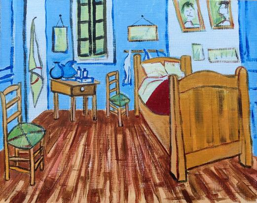 Debuter En Peinture Acrylique Un Exemple En Pas A Pas